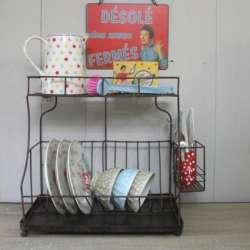 Une cuisine ambiance brocante dans le cosyblog for Accessoire deco cuisine vintage