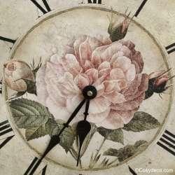 Horloge Style Cosy Maison Romantique