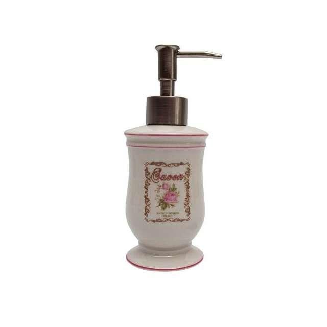 antic line bain distributeur a savon style romantique