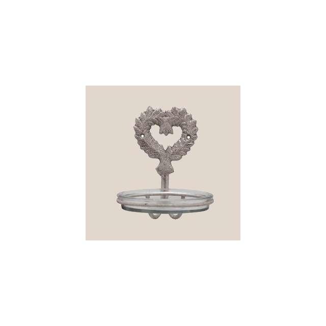 Porte Savon Coeur Décoration de Charme