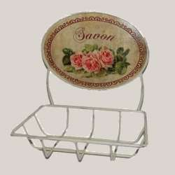 Porte Savon Roses Décoration de Charme