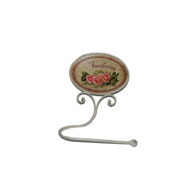 d rouleur papier toilettes d coration de charme roses anciennes boutique cosyd co. Black Bedroom Furniture Sets. Home Design Ideas