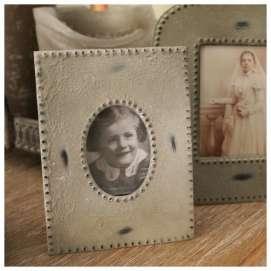 Petit Cadre Photo Zinc Vintage deco Rétro - Chehoma