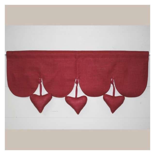 Cantonni re coeurs suspendus rouge d coration cuisine - Decoration coeur rouge ...