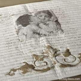 Tapis de Bain Déco Anges Amoureux Mathilde M Déco