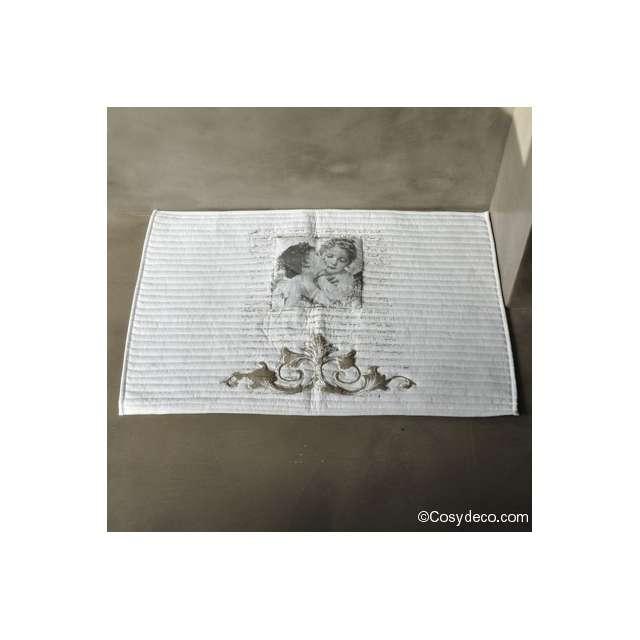 Tapis de Bain Déco Anges Amoureux Mathilde M Déco 40 x 60 cm