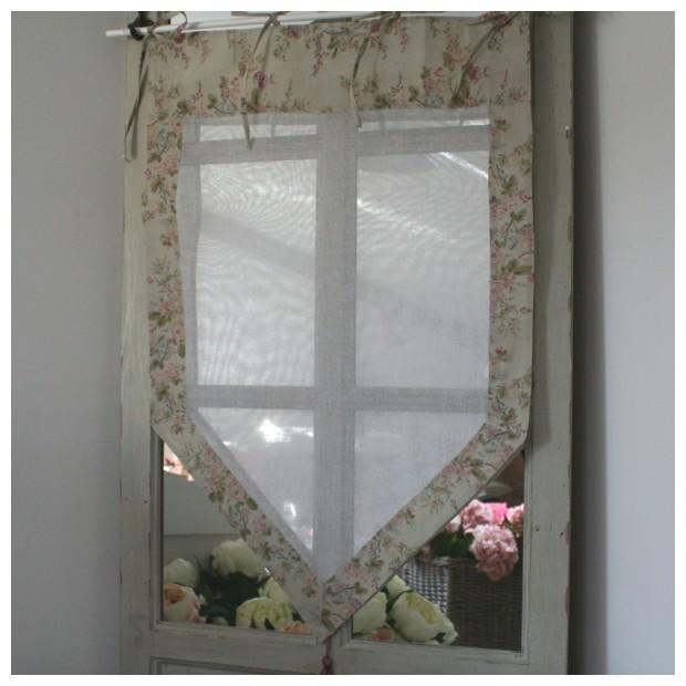boutique brise bise rideau fleuri coton d 233 coration romantique
