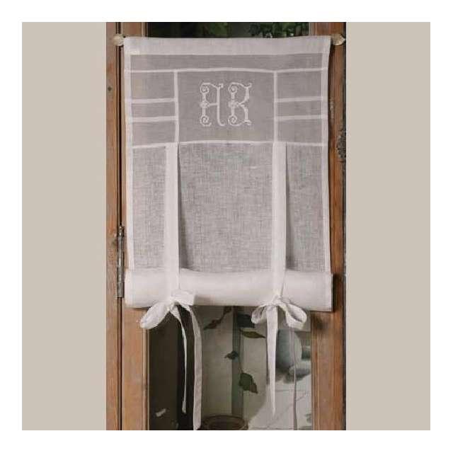 vente en ligne store sur mesure monogramme brod. Black Bedroom Furniture Sets. Home Design Ideas