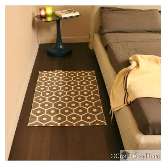 Tapis Plastique Pappelina Honey Taupe