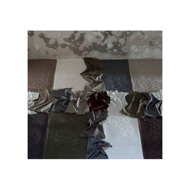 tapis de salle de bain couleur lin style hammam