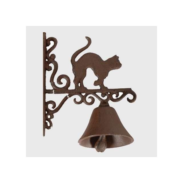 Cloche de porte fonte Déco Jardin Décoration Chat