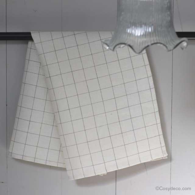 linge de cuisine cosyd co torchon 100 lin naturel. Black Bedroom Furniture Sets. Home Design Ideas