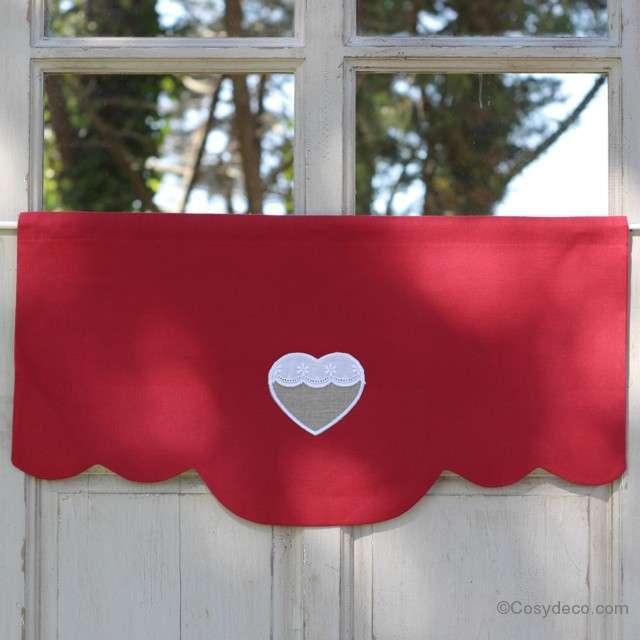 Cantonni re rouge pour d corer une cuisine ambiance campagne for Deco cuisine retro rouge