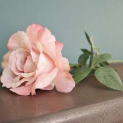 Rose Artificielle Vintage Shabby Chic