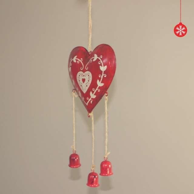 Coeur Décoration Ambiance Noël pour la maison ou la Sapin
