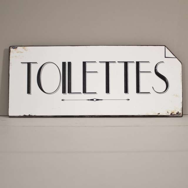 plaque toilettes vintage style r tro en vente dans la boutique cosyd co. Black Bedroom Furniture Sets. Home Design Ideas