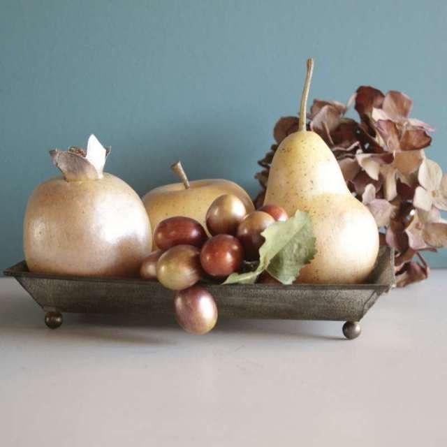 Fruits arficiels Mordorés Décoratifs