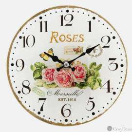 Horloge murale deco Romantique Clayre and Eef
