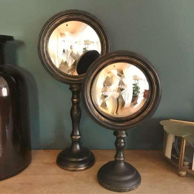Duo de Miroirs Sorcière sur pieds