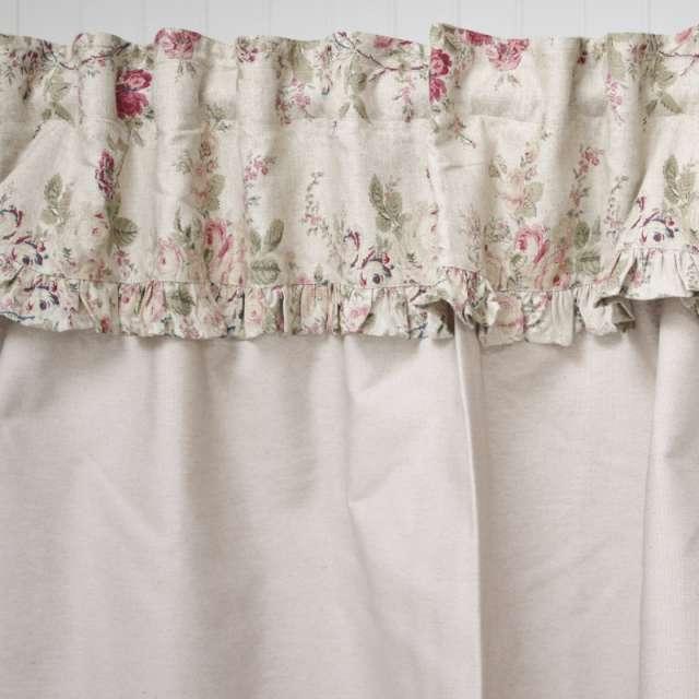 Superbe rideau sous-évier Tissu Fleuri style Anglais teintes Pastel