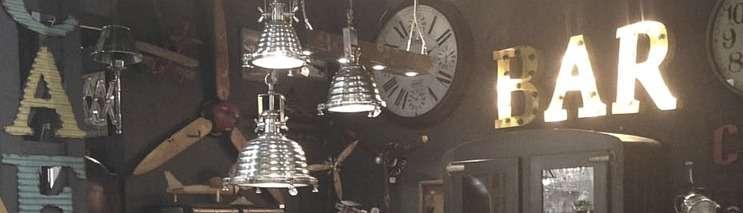 D coration industriel accessoires et objets pour un style loft - Objets deco industriel ...