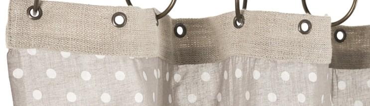 Rideau Lin et Coton | Rideau décoration romantique