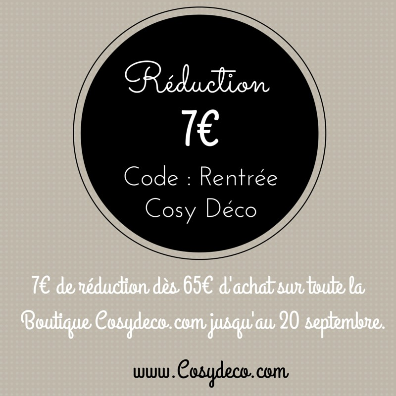 Code R�duction Cosy D�co