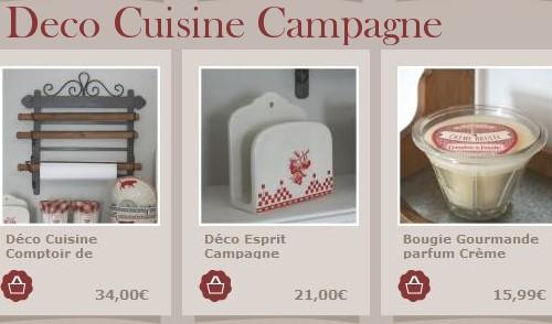 Objets et accessoires decoration cuisine boutique cosydco for Objets decoratifs pour cuisine