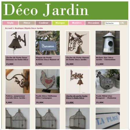 D co jardin boutique d coration en ligne pour la maison - Magasin decoration en ligne ...