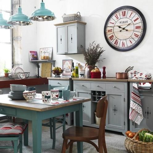 Comptoir de famille d co cuisine r tro boutique cosy d co - Deco cuisine retro campagne ...