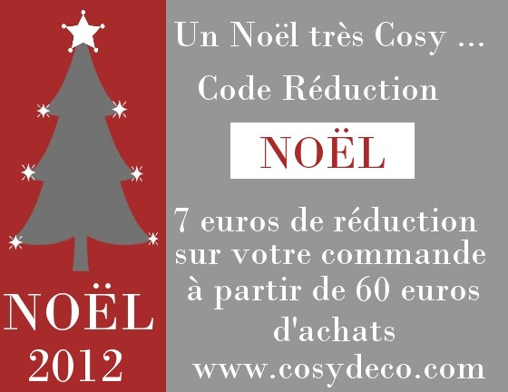 Code r duction cosy d co no l - Code promo deco de fete ...
