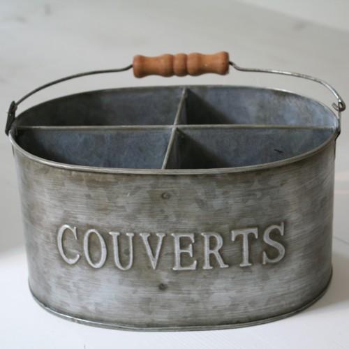 Porte couvert r tro cuisine d co campagne r tro antic line for Pot a couverts cuisine