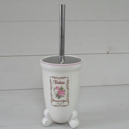 Balayette porte brosse wc d co charme d coration boutique for Decoration porte wc