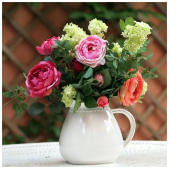 Composition florale tous les produits et articles de d coration sur elle maison - Decoration florale maison ...