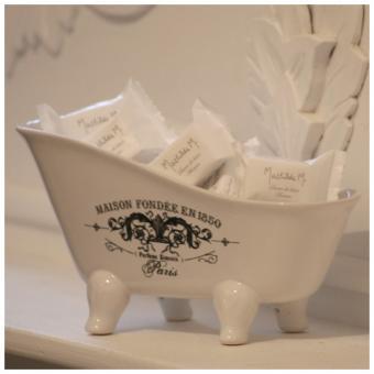 Salle de bains porcelaine tous les objets de d coration - Objet deco salle de bain ...