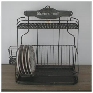 egouttoir zinc dcoration cuisine rtro comptoir de famille. Black Bedroom Furniture Sets. Home Design Ideas
