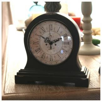 horloge bois poser comptoir de famille style ancien brocante. Black Bedroom Furniture Sets. Home Design Ideas