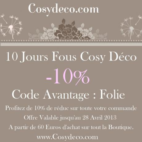 code r 233 duction cosy deco folie