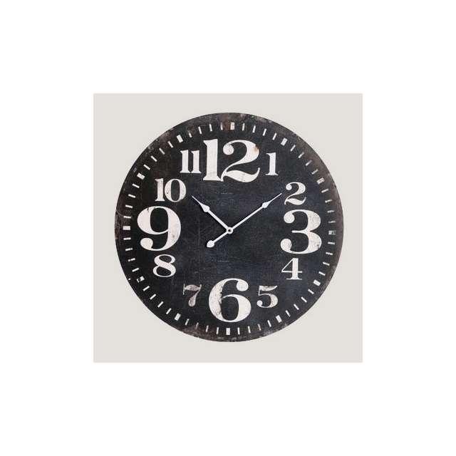Horloge Noire Antic Line création
