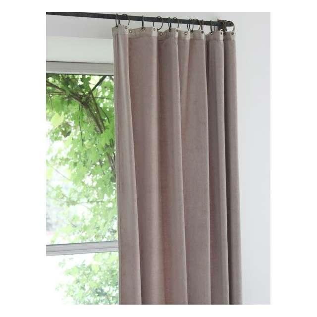 rideaux en fil d 39 indienne velours gris souris boutique d co en ligne. Black Bedroom Furniture Sets. Home Design Ideas