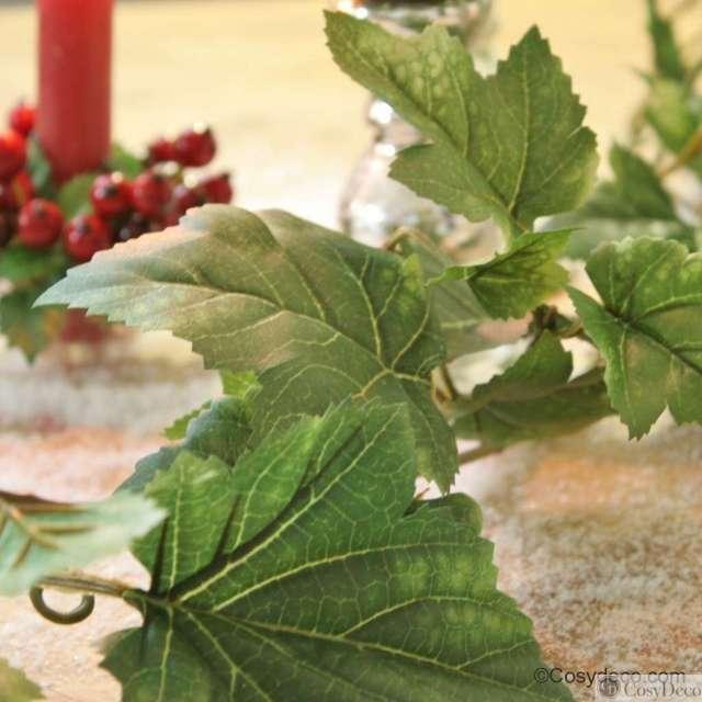 Guirlande de feuilles de Vigne Artificielle