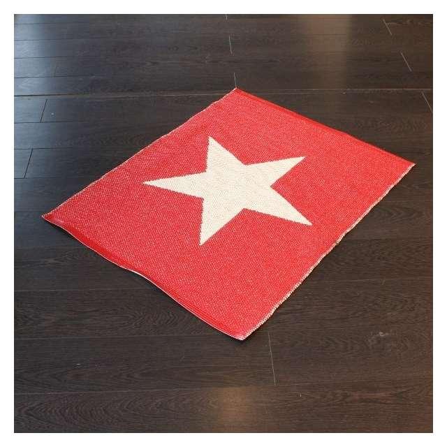 tapis pappelina étoile rouge