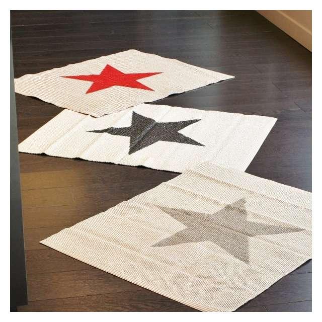 tapis pappelina étoile grise