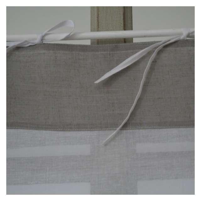 Brise-Bise coton Style Gustavien Déco