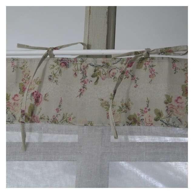 Boutique Brise Bise, rideau fleuri coton Décoration Romantique