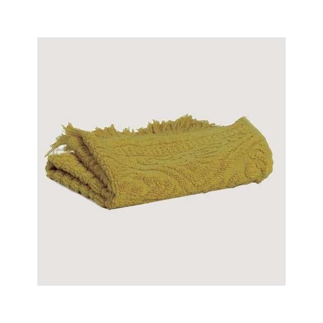 Serviette eponge Coloris jaune Badiane