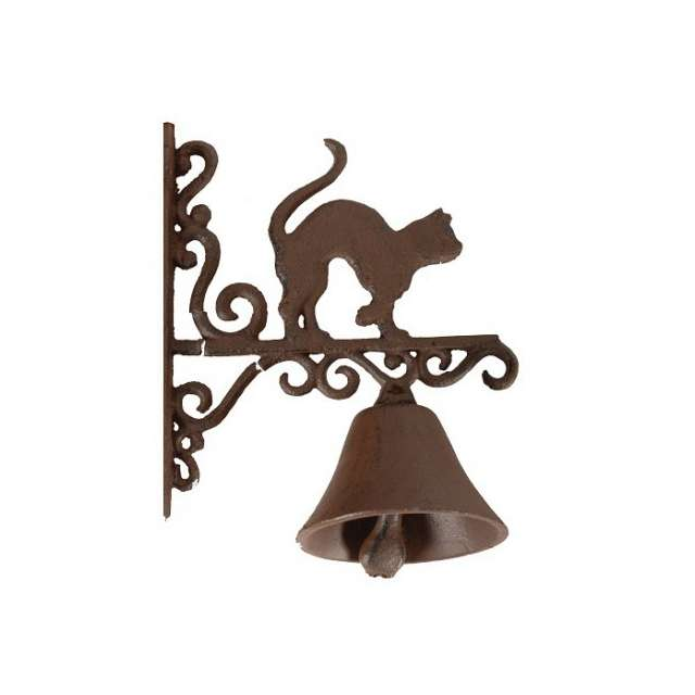 cloche de porte chat decoration