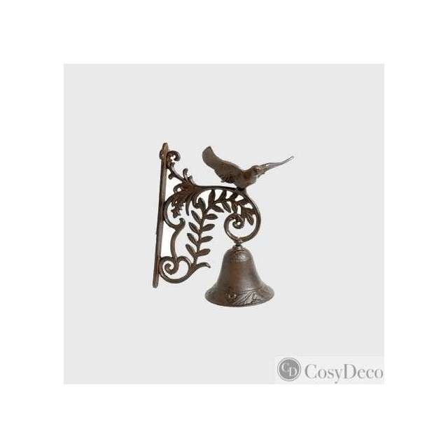 cloche porte oiseau decoration