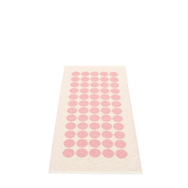 Tapis Plastique Pappelina fia rose reversible