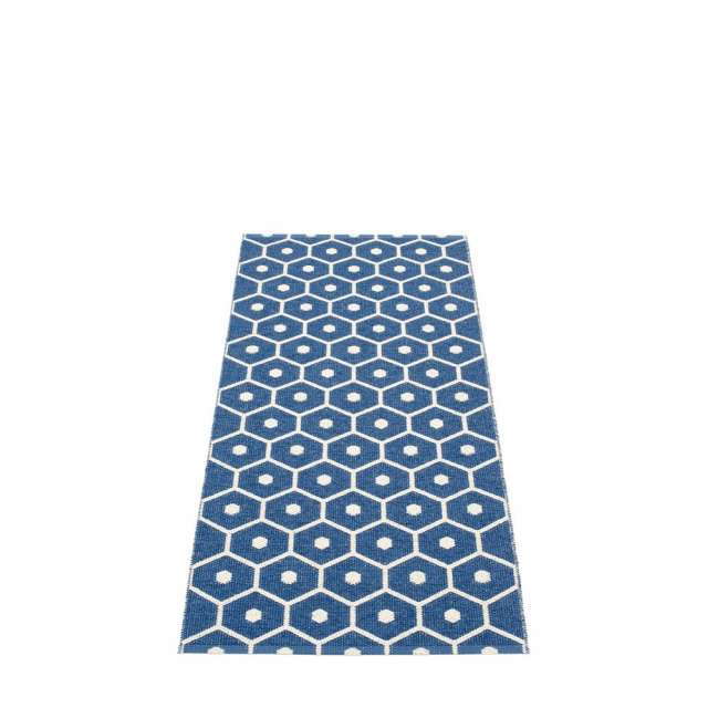 Tapis Plastique Pappelina Honey Bleu